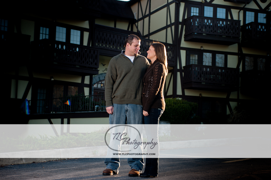 Engagement session near the Potomac River in WV
