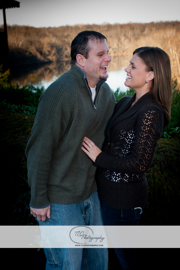 Bavarian Inn engagement portraits