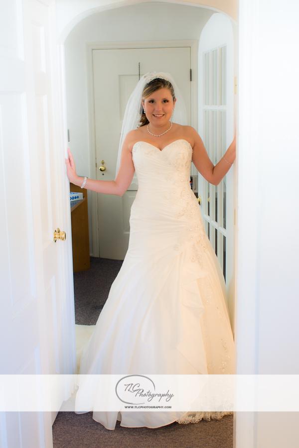 Presenting the bride!