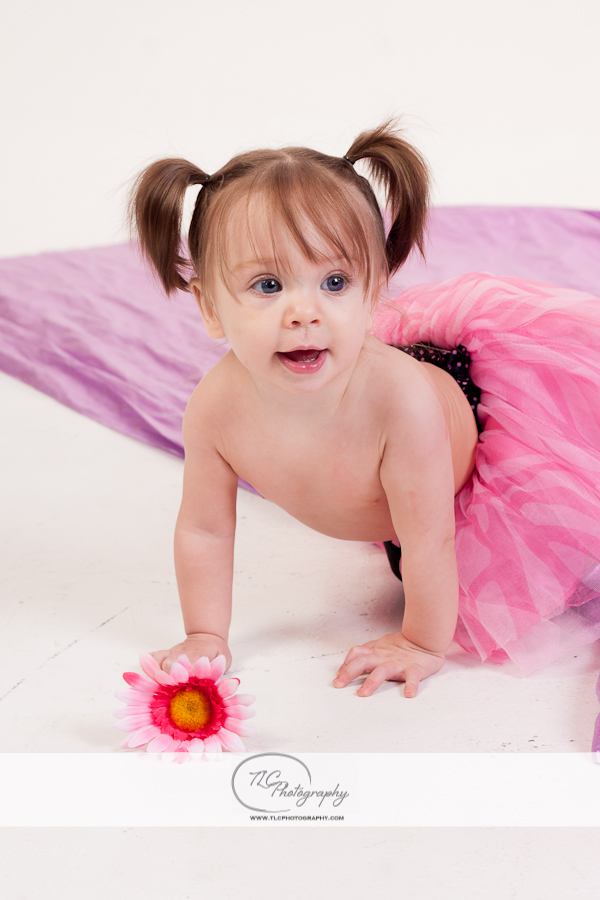 Infant Picture in Pink