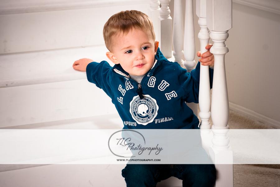 Little boy portrait at TLC studios