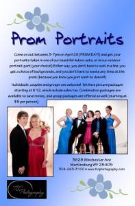 Prom portraits