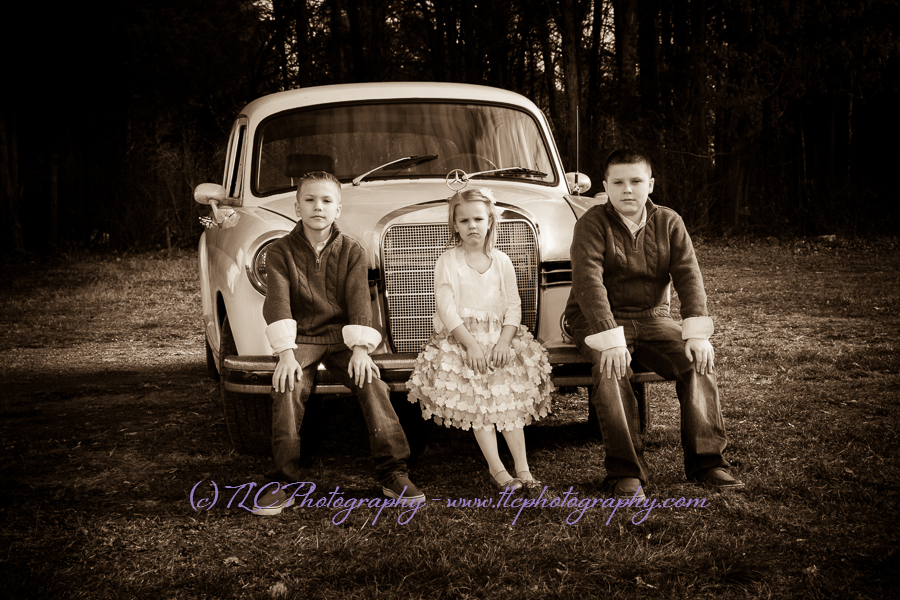 Family portraits at TLC Photography