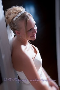 A gorgeous bride in Martinsburg