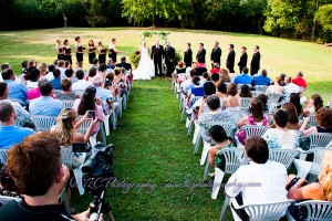 Stunning ceremony at Hartwood Mansion