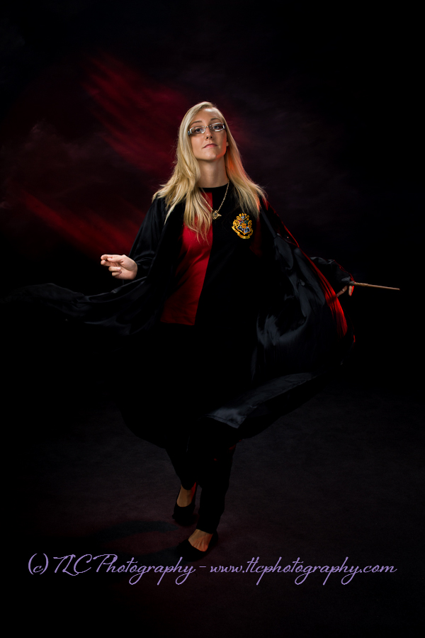 Harry Potter fan at TLC Photography