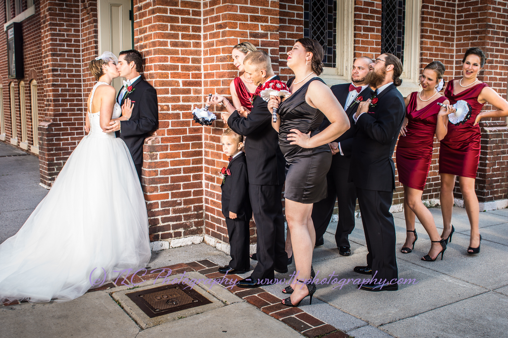 Beautiful wedding photography in Martinsburg WV