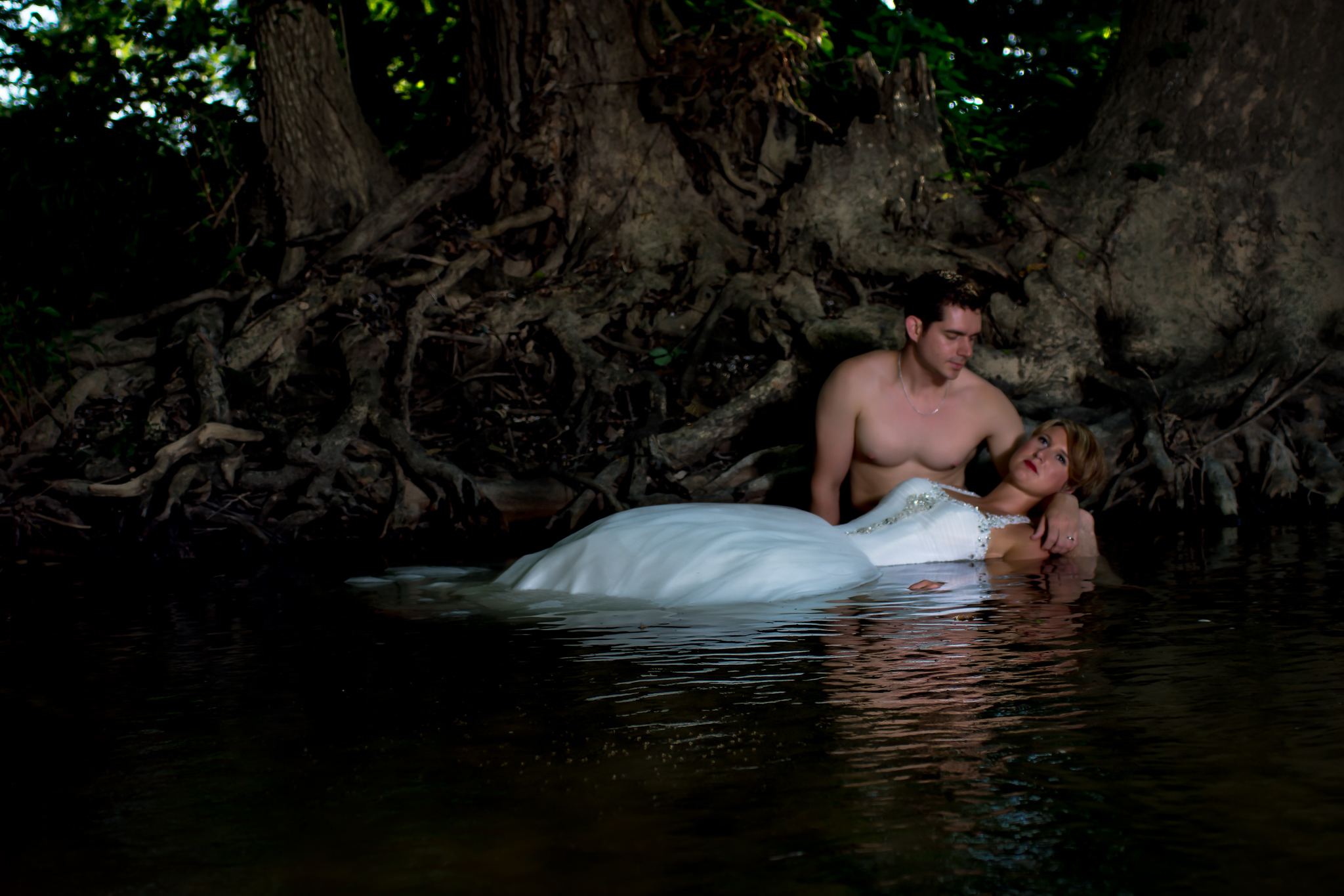 Trash the dress perfection